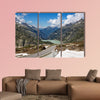 Serpentine road connectine alpine passes Furka and Grimsel wall art