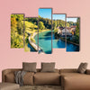 Bern old town with river in Switzerland multi panel canvas wall art