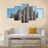 The Christian Italy faith of role in the establishment Catho Multi Panel Canvas Wall Art