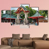 The Entrance Gate of the Berlin Zoo / Zoological Garden multi panel canvas wall art