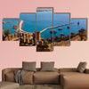 The ancient fortress of Alanya and the Red Tower, Turkey multi panel canvas wall art