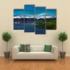 Nile river in Uganda Multi panel canvas wall art