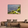 Landscape of the Masca Gorge in Tenerife, Canary Islands multi panel canvas wall art