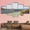 Bridge (Atlanterhavsvegen) with an amazing view multi panel canvas wall art