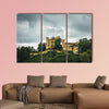 Castle called Hohenschwangau in Bavaria multi panel canvas wall art