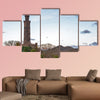 The Nelson Monument located in central Edinburgh multi panel canvas wall art