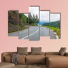 Yunnan Lugu Lake road multi panel canvas wall art