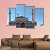 Exterior view of Selimiye Mosque in Konya, Turkey multi panel canvas wall art