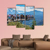 Mt. Harderkulm, Switzerland multi panel canvas wall art