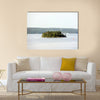 Amazing lonely island in Sweden, Stockholm Archipelago Canvas Wall Art