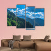 Beautiful Lake Ritsa in the Caucasus Mountains. Green mountain hills, wall art