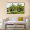 Two tree painting- my own work Multi Panel Canvas Wall Art
