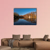 Autumn Colours at Deuss Temple Krefeld multi panel canvas wall art