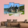Ancient Golubac fortress on Danube river in Serbia Multi panel canvas wall art