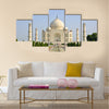 Taj Mahal, India Multi Panel Canvas Wall Art