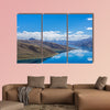 Yamdrok lake highest land with mountains under blue sky canvas wall art