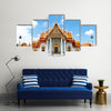 Most Beautiful Temple Of Buddhism In Thailand, Multi Panel Wall Art