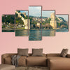 The beautiful View of Rumeli Fortress, Istanbul, Turkey multi panel canvas wall art