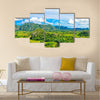 The Vinales Valley In Cuba, A Famous Tourist Destination Multi Panel Canvas Wall Art
