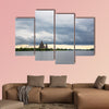 Russia, view from the Lake Onega of the Kishi Island multi panel canvas wall art