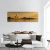 Taj Mahal in sunset scene Panoramic Canvas Wall Art