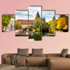 Nuremberg, Schlayer Hallergate Bridge over the Pegnitz River, wall art