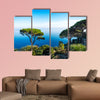 Amalfitana Coast, Ravello, view on the coast from Villa Rufolo, Italy, mediterranean sea coast