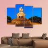 Memorial of German Unity at Deutsches Eck in Koblenz multi panel canvas wall art