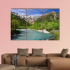 kamikochi / Japan in the summer multi panel canvas wall art