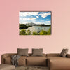 Quebec City Bridge in Canada on the day time multi panel canvas wall art