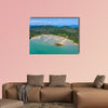 Aerial view of the beautiful, relaxing tropical island of Koh Yao wall art