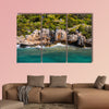 Ruins of the ancient city on the Kekova island, Turkey Multi panel canvas wall art