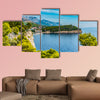 Croatia, Dubrovnik, the panoramic view of the old town multi panel canvas wall art