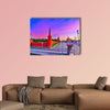 View of Kremlin along the Moscow River at dawn in Moscow, Russia wall art
