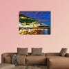 View of Amalfi village along Amalfi Coast in Italy at night wall art