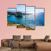 Beirut Raouche Pigeons Rock with Picturesque Sea View multi panel canvas wall art