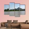 Landscape in Ethiopia Multi panel canvas wall art
