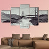 A view of Golden Gate Bridge from Baker Beach in San  wall art