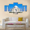 Taj Mahal in India Multi Panel Canvas Wall Art