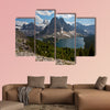 Mount Assiniboine in the Rocky Mountains of Canada in British Columbia, Canada Multi panel canvas wall art