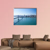 San Francisco Panorama with Bay bridge Multi panel canvas wall art
