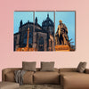 St Giles' Cathedral with Duke of Buccleuch of Edinburgh multi panel canvas wall art