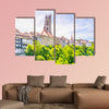 Saint Nicholas cathedral at Fribourg, Switzerland multi panel canvas wall art