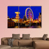 Cottbus Christmas market in Germany multi panel canvas wall art