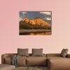 Canal water system through Phoenix, AZ multi panel canvas wall art