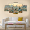 View of Rome from Castel Sant'Angelo, Italy Multi panel canvas wall art