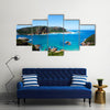Featherbed nature reserve in Knysna, South Africa Multi panel canvas wall art