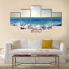 Sea sunset in Olympic Park coast Multi Panel Canvas Wall Art