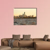 The skyline of Buenos Aires, Argentina multi panel canvas wall art