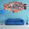 The Famous Saint Peter's Square in Vatican and aerial view of the city Multi Panel canvas wall art
